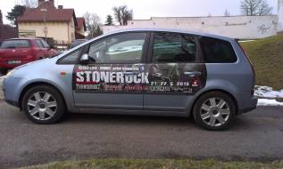 Polep automobilu - STONEROCK