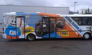 Celopolepy autobusů MHD - KAMENNÝ OBCHOD