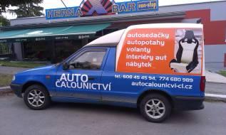 Polep vozu - Autočalounictví_CL